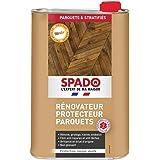 SPADO - Entretien Parquet - Protection Rénovatrice Brillante Blindor - Parquets Cirés et Vitrifiés - 1L