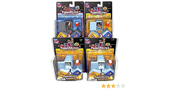 LOT Of 5 Random Sets For NFL Collectors Chibi Teeny Mates Locker Room Set