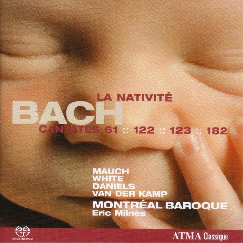 Bach, J.S.: Cantatas, Vol. 4 (Milnes) - Bwv 61, 122, 123, 182 (La Nativite)