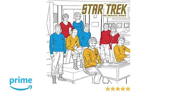 Star Trek: The Original Series Adult Coloring Book: Amazon.de: CBS ...