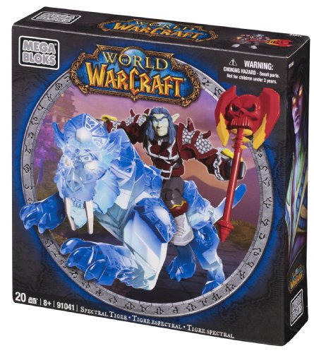 Mega Bloks World of Warcraft Spectral Tiger and the Seperon