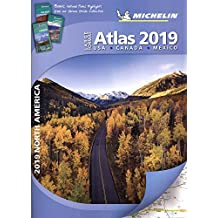Michelin North America Large Format Atlas 2019 (Atlas (Michelin))