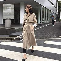 DAIDAILYQ Trench da Donna Primaverile Abiti da Donna di High Street Capispalla Larghi Donna Lavoratore Streetwear Giacca…