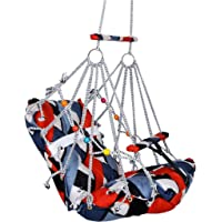 DS Store's Cotton Swing Chair for Kids Baby's Children Folding and Washable 1-8 Years with Safety Belt - Home,Garden…