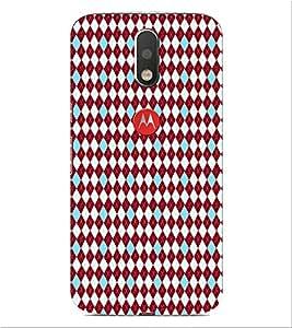 ifasho Designer Phone Back Case Cover Motorola Moto G4 :: Moto G (4th Gen) ( Colorful Biscuit Colorful Pattern Design )
