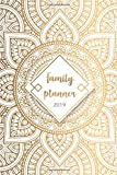 Family Planner 2019: Organizer and Weekly Family Planner for up to 6 People - Family Calendar and Mom Planner for 2019 from January to December 2019