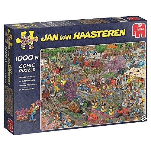 Jan van Haasteren Flower Parade 1000 pcs 1000pc(s) - Puzzles (Jigsaw puzzle,...