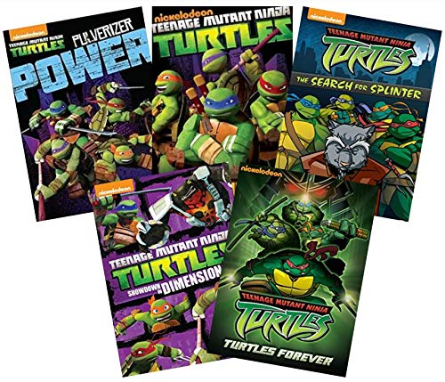 Ultimate Teenage Mutant Ninja Turtles: Volume 2 (5-DVD Nickelodeon TMNT Collection): Pulverizer Showdown/Rise of the Turtles/The Search for Splinter/Showdown in Dimension X/Turtles Forever