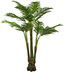 Hyperboles Nearly Natural 5259 Paradise Artificial Palm Trees, 5-Feet, Green Without Pot