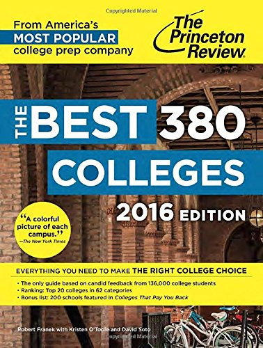 Best 379 Colleges. 2016 (College Admissions Guides)