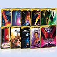 Star Trek: Uk Limited Edition Steelbook Collection Blu-ray All 10 Movies Original Motion Picture Collection Region free Bluray