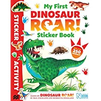 My First Dinosaur Roar! Sticker Book