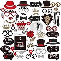 PBPBOX Hochzeit Photo Booth für Hochzeit Partei Dekorationen 54Stück
