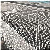 ZXLLAFT Gebäudesicherheitsnetz, Anhängernetz Containernetz, 50 Mm Raster 1,5 M Breit, Gartenzaunnetz, Geflügelnetz,1.5X7M/4.9X23FT