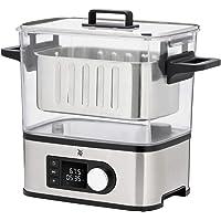 WMF Lono 2in1 Sous Vide Garer Pro mit Slow-Cook Einsatz (1500 W, Vakuum garen, Schongaren, Wasserbhälter 6,0 l, Timer…