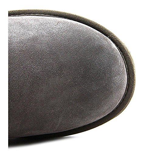 UGG® Australia - Classic Short Woven Suede - Damen Lammfell Winter Stiefelette in Strickoptik 1010551 Charcoal