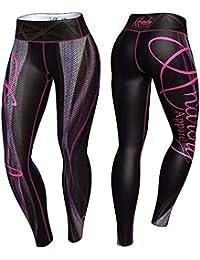 Anarchy Apparel Legging Plasma, Fitness, Gym Aérobic Pantalons pour femme Compression