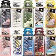 2 Pack (8 Fresheners) x Official Yankee Candle Car Vent Stick Air Fresheners