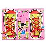 Munchkinz Shoe Lacing Activity Board (6 Pieces)