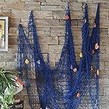 cheers-online Angeln Net Seaside Wand Beach Party Muscheln Wand Deckenleuchte Bar Home Decor