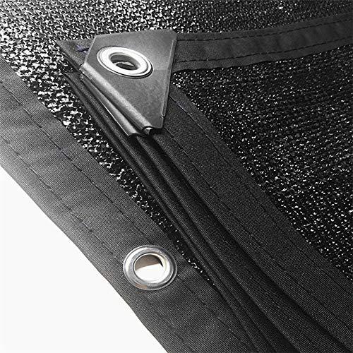 JNYZQ Isolation de Protection Solaire de bâche de Toile d'ombrage de Filet Toile de Balcon de Toit de Balcon avec Oeillets (Taille : 8x12M)