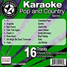 All Star Karaoke Pop and Country Series (ASK-1403B) by All Star Karaoke