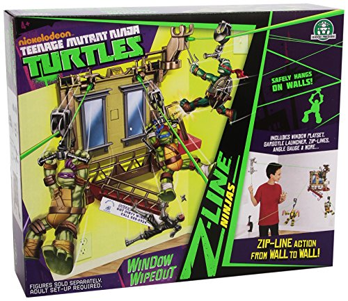 Tortugas Ninja Teenage Mutant Ninja Turtles – Playset Exhaust Z Line Carteler... Action- & Spielfiguren