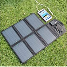 Generic Portable charger 12V 21W Solar Panel Charger Dual Output 5V USB and 12V DC