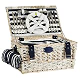 Picknick-Korb gestreift
