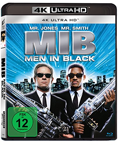 Men In Black (4K Ultra HD) [Blu-ray]