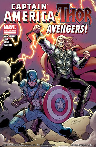Captain America & Thor!: Avengers #1 (English Edition) di Fred Van Lente