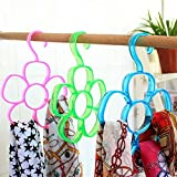 Skycandle 6 Circles Scarf Holder Tie Han...