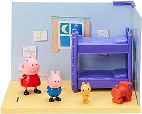 Planet Superheroes Peppa-Pig and George Pig Figures Playset