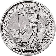 Moneda coleccionable de la Royal Mint de plata 2019 con diseño de Britannia de ...