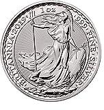 Moneda coleccionable de la Royal Mint de plata 2019 con diseño de Britannia de 999 ml