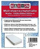 2 Stück Matratzenhüllen Matratzenschutzhüllen Schutzhülle-Matratze, 1050x200x2300mm geruchsneutral und reißfest, 80µ, Sicherer Schutz für Umzug, Transport, Lagerung