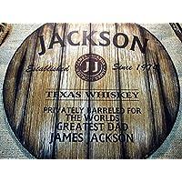 Insegna Decorativa Personalizzata Ispirata alle Vecchie Canne di Whisky, Regali Personalizzati per Uomo, Arredamento da Bar Rustico per Soggiorno