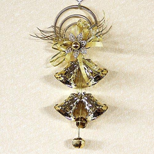 Weihnachtsschmuck Glöckchen Christbaumanhänger ( Farbe : Gold , größe : 3 per package )