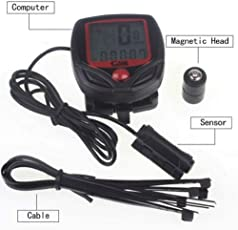 DEZIINE Bicycle Cycle Computer Cyclometer Speedometer 15F 15 Functions.