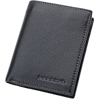 Harrms Handmade Genuine Leather Bifold Mens Wallet - Italian Cowhide