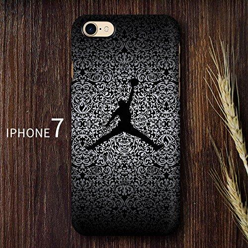 RONNEY'S AIR JORDAN BASKETBALL HEROS SOFT TPU Case for Apple Iphone 6+ JD4 JD7