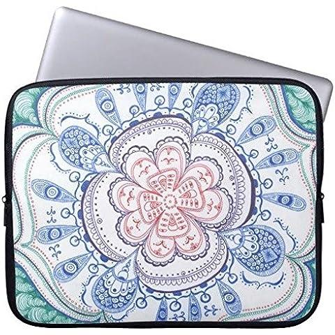 oliyneco Colorful Mandala neopreno para portátil Macbook Air de 13pulgadas MacBook Pro Funda y portátil de