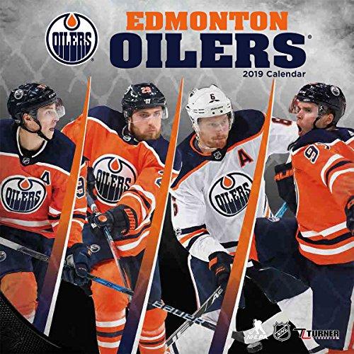 Turner 1 Sport Edmonton Oilers 2019 12 x 12 Team Wandkalender Büro Wandkalender (19998011941)