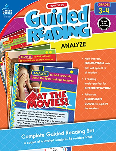 Ready to Go Guided Reading: Analyze, Grades 3-4