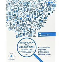Introducción a la microeconomía: Ejercicios, test, problemas y exámenes actualizados