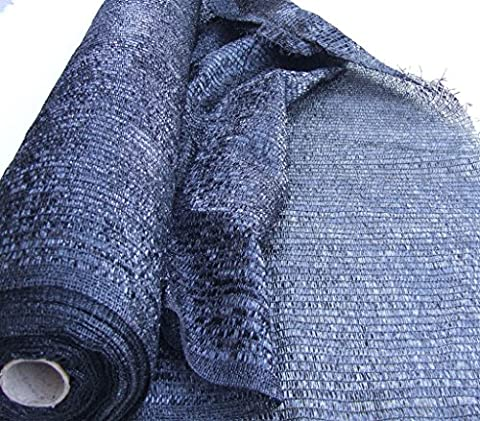 Sunblock Black Shade 40% Cloth UV Resistant Fabric 20ft X 10ft Top Quality