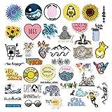 45 Stück süßer Aufkleber,Wasserdicht Vinyl Stickers Graffiti Style Decals für Motorräder Fahrrad Skateboard Snowboard Gepäck Aufkleber,Autos Decals wasserdicht trendige Aufkleber für Jugendliche