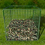Large 567L Composter Metal Wire Mesh Compost Bin Eco Garden Converter Eco Recycling Soil Storage Waste Box 90x90x70cm