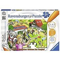 Ravensburger-00518-tiptoi-Puzzeln-Entdecken-Erleben-Der-Ponyhof
