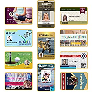 Customisable Staff ID Card - Loyalty Card - Discount Card Professionally Printed onto a Credit Card Sized Card.